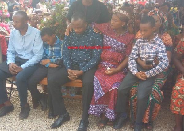 Tears flow for justice as hundreds bid farewell to slain Ghanaian nurse