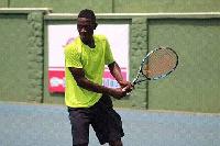 Johnson Acquah defending Champion