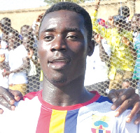 Winful Cobbinah is yet to make an appearance for Hearts of Oak