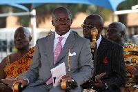 Asantehene, Otumfuo Osei Tutu II is Chancellor of KNUST