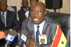 The ranking member of parliament's Finance Committee, Mr Cassiel Ato Forson