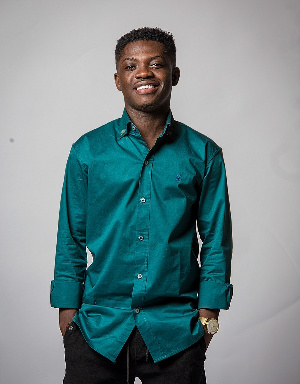 Artiste manager for DopeNation, Richmond Opoku