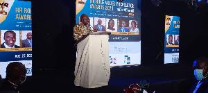Joseph Cudjoe spoke as Guest Speaker at the HR Role Model Excellence Awards