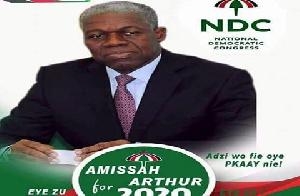 Amissah Arthur 4president