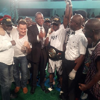 Wahab Oluwasuen defeated Bright Ayala to win the vacant WBA Pan African title