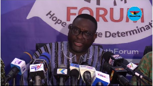 Yaw Buaben Asamoah is the Director of Communications for the NPP