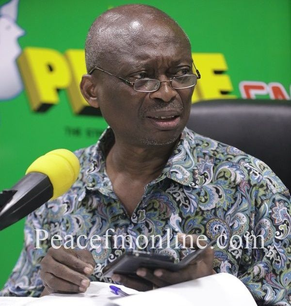 Your position on ballot paper means nothing - Kweku Baako to presidential candidates