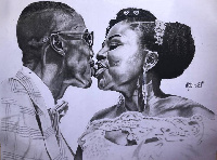 Some artwork of Frederick Mwenviel Dibkuu