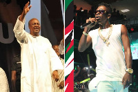 Shatta Wale's 'Mahama paper' hit song was used by the NDC as its campaign song in 2016