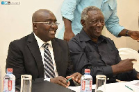 Kufuor with Dr Bawumia