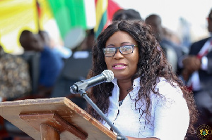 FISHNANA Minister For Fisheries, Elizabeth Afoley Quaye