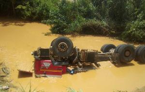 Car Galamsey Pit