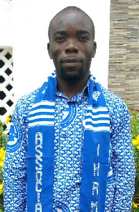Executive Director of CENLRA, Mawuli Kpodo