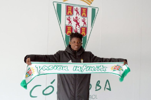 Olivia Anokye completes move to Cordoba CF
