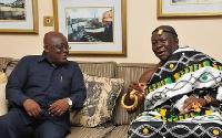 President Akufo-Addo and Otumfuo Osei Tutu II