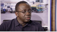 Kwame Awuah Darko, Managing Director of the Tema Oil Refinery (TOR)