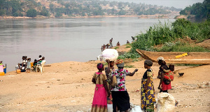 Dieudonne Pieme banned people from drinking water and eating fish from the  Tshikapa River