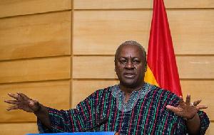 John Dramani Mahama Speaking Fugu