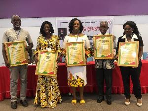 Prof L. Dzama Forde, Dr A. Sefa-Dedeh, Prof Joe K. Essuman, Prof Koawo Edjah & Dr E Emefa Bonsi