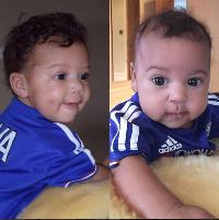 Mikel Obi's twins
