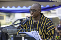 Interior Minister and MP for Nandom Constituency, Ambrose Dery