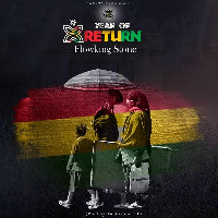 Flowking Stone released the song to celebrate all the African men who have returned to Ghana