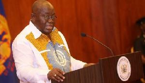 Tema MCE, Felix Anang-La praised President Nana Addo's (above) leadership