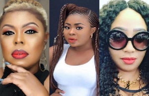 Afia Schwarzenegger, Adu Sarfowaa and Diamond Appiah have been fighting on social media