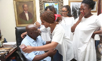 President Akufo-Addo will be on vacation with his family