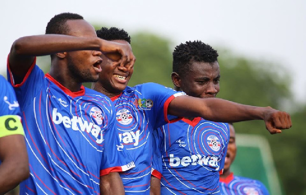 Liberty Professionals record massive 5-2 win over Aduana Stars