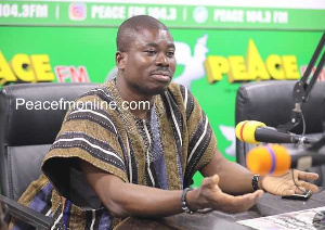 Charles Owusu, Head of Monitoring Unit at the Forestry Commission