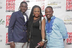 Noble Nketsiah, Joyce Blessing and Nii Okai