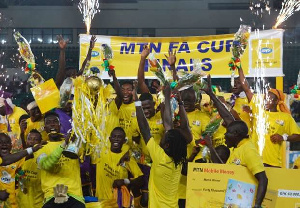 Medeama defeat Kotoko to win MTN FA Cup in 2015