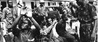 At least, 800 men and boys were killed in two day in October of 1967 in Asaba during the biafra war