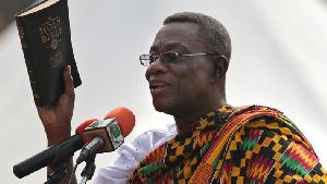 Late President, John Evans Atta Mills