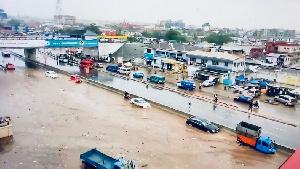 Floods In Ghana  Nneeew