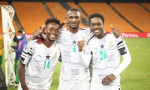 Emmanuel Gyasi Nicholas Opoku Emmanual Boateng