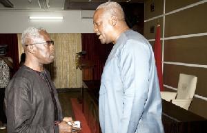 Mahama With Tony Aidoo