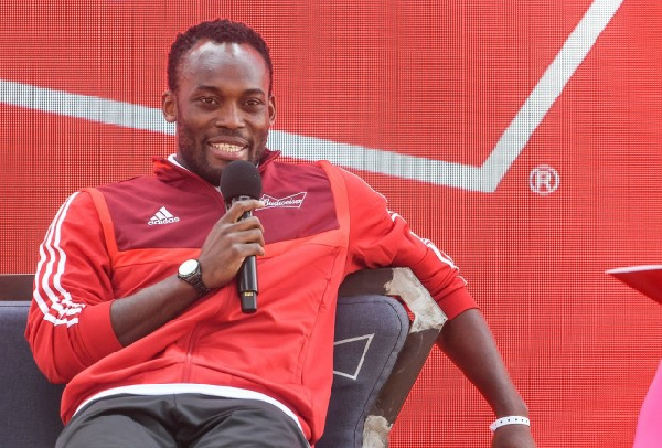 Ghanaians storm Michael Essien social media to express disgust over LGBT support