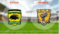 File Photo: Asante Kotoko and AshGold flags