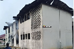 Fire guts Electoral Commission office in Accra