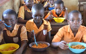 SCHOOL FEEDING BEGS