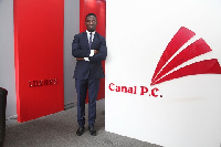 Calvin Kwadwo Bediako, CEO of the Canal Group