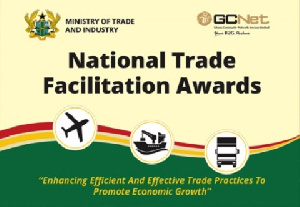The awards program is to reward excellence in the country's trade facilitation industry