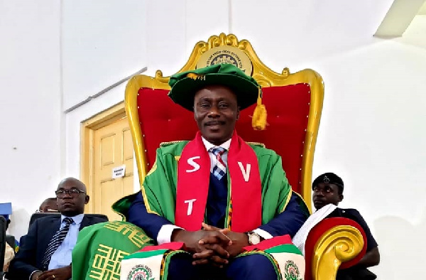 Prof. Kwadwo Adinkra-Appiah becomes first VC of Sunyani Technical University.