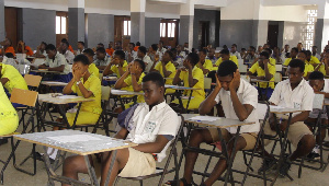 The 2018 BECE commenced yesterday