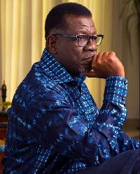 Pastor Mensa Otabil, Founder and head pastor of the International Central Gospel Church