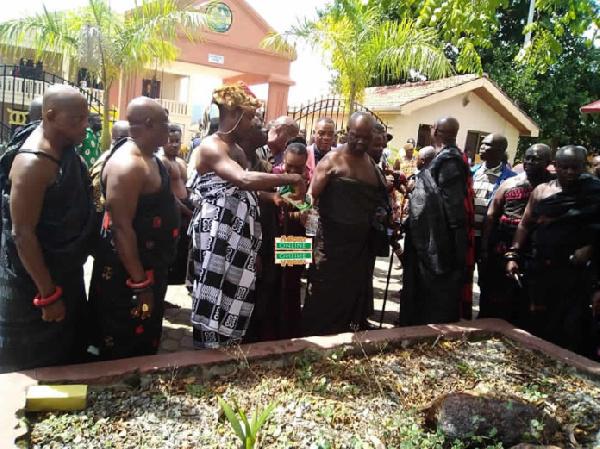 NDC 'pacifies' Okyenhene over Kwame Zu's animal comment