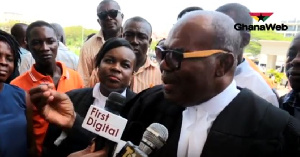 Ayikoi Otoo is a leading member of the NPP and former Attorney General