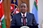 File Photo: Kenya's President Uhuru Kenyatta